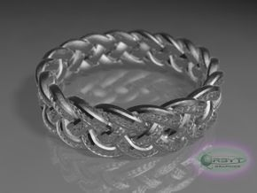 Best Celtic Knot Ring yet - size 10 in Polished Silver