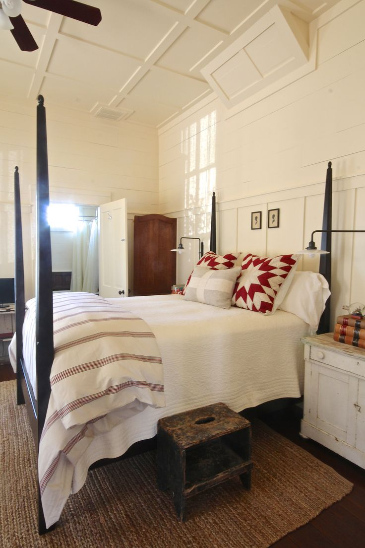 House interior bedroom - Charming Bedroom Old Glory House Holly Mathis Interiors