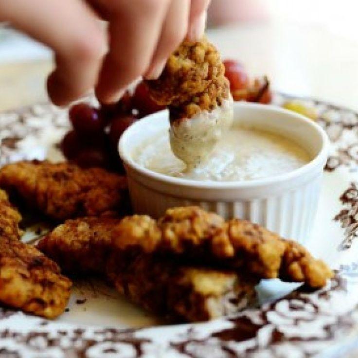 Steak Fingers & Gravy by pioneer woman Recipe | Just A Pinch Recipes