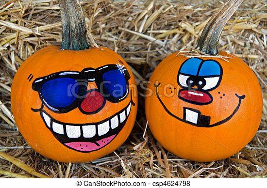 Stock Photo - Pumpkin Humor - stock image, images, royalty free photo, stock photos, stock photograph, stock photographs, picture, pictures, graphic, graphics