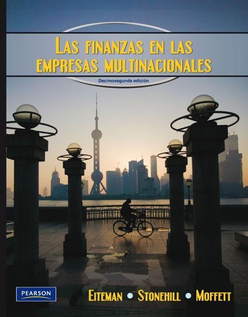 David K. Eiteman. Las finanzas en las empresas multinacionales. 12ª ed. Editorial Pearson, 2010. ISBN: 9786073202527. Disponible en: Libros electrónicos de PEARSON.
