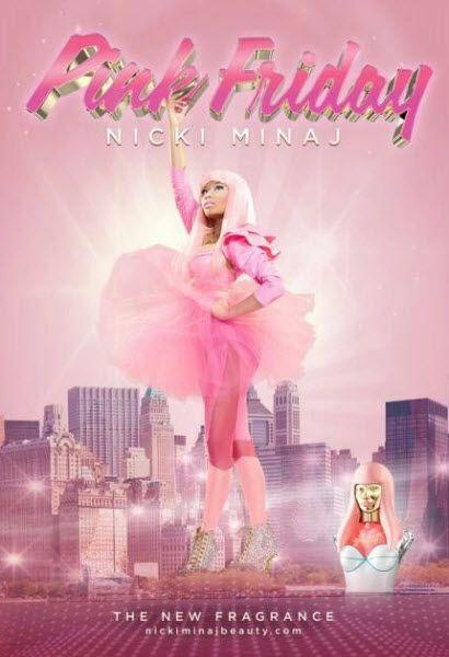 Nicki Minaj's Pink Friday campaign poster revealed