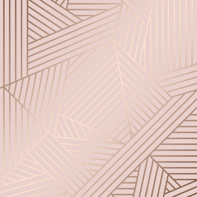 Wingate Geometric Wallpaper Pink Rose Gold Pink Geometric Wallpaper Pink And Gold Wallpaper Gold Wallpaper Background