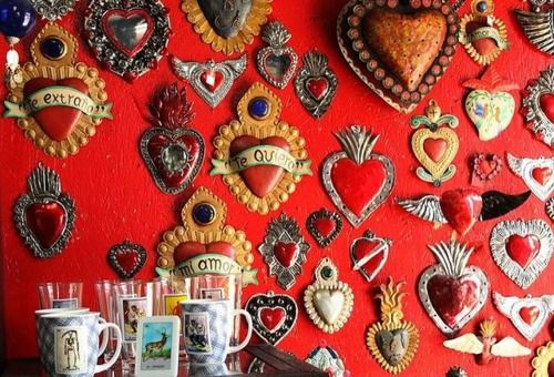 Mexican Wall Hanging Decor : Mexican sacred heart wall decor blessed be thy
