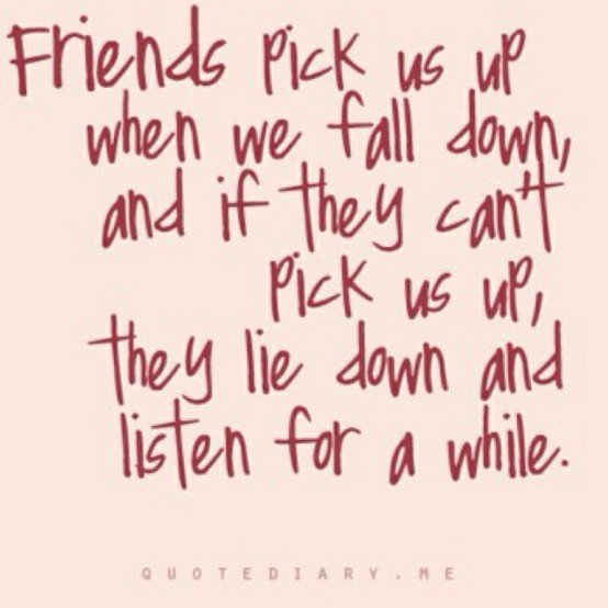 Friends... Glad to have good people in my life.