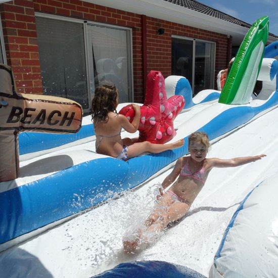 Surf the Wave Bouncy Castle  #surf #beach #bouncycastle #inflatables #toys #kids #play