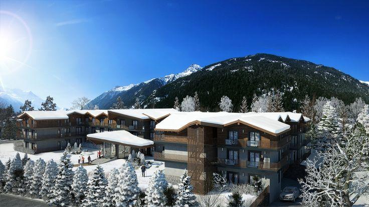 Chamonix Ski property with 360° view