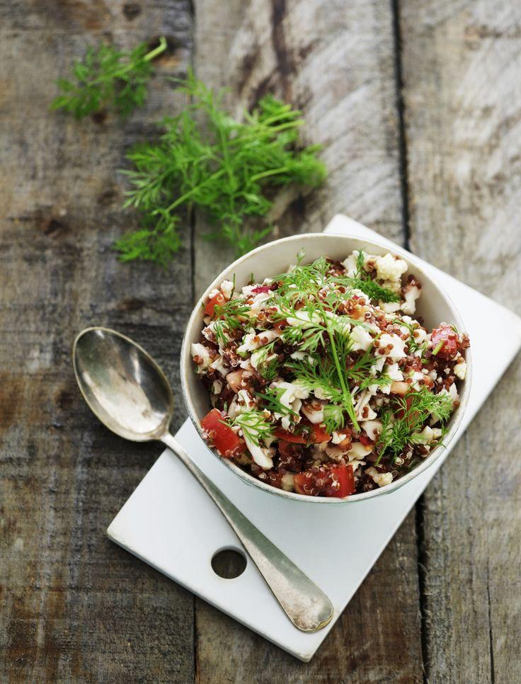 Quinoasalade met feta en bloemkool - Libelle Lekker