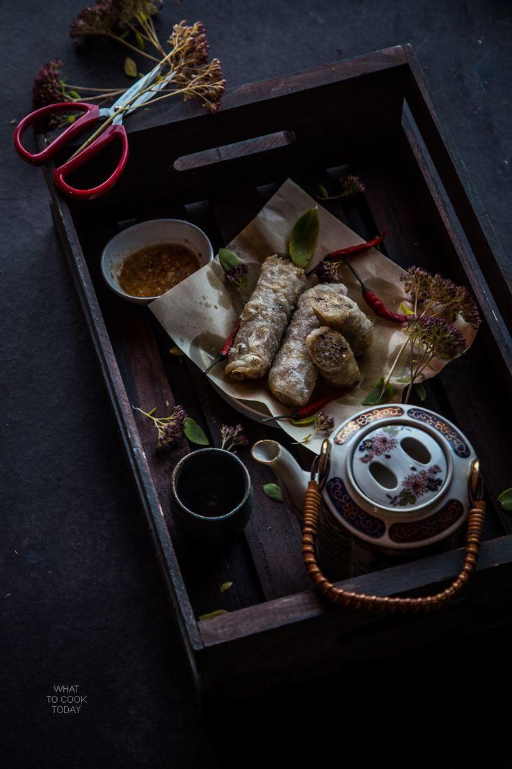 Cha gio (Vietnamese crispy spring rolls)