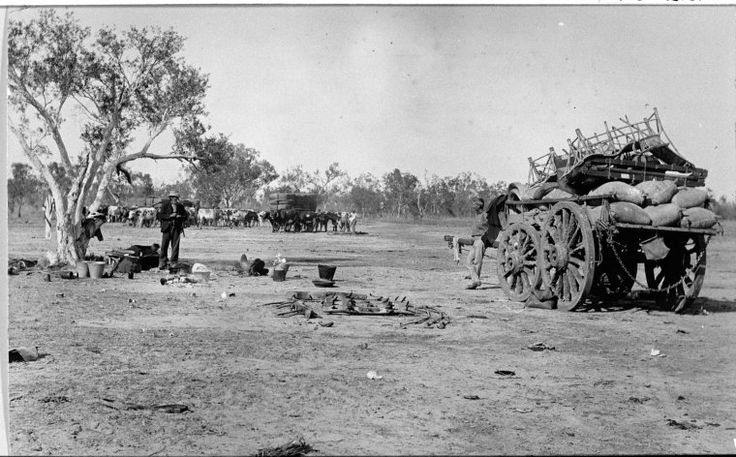 025522PD: Camp at Mayall's Well 4 miles out of Derby, ca. 1900 https://encore.slwa.wa.gov.au/iii/encore/record/C__Rb3005504