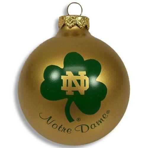 Notre Dame Fighting Irish Christmas Ornament