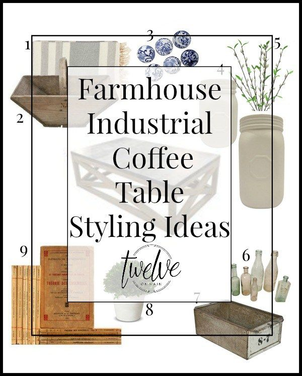Create a fantastic farmhouse industrial style coffee table for Industrial farmhouse coffee table