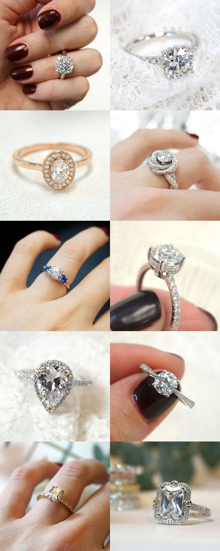 Tap For More And Discover 1,000+ Unique Engagement Rings Customize Or Design  Your