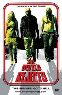 The Devil's Rejects (2005) signed by Sid Haig, Bill Moseley, William Forsythe, Ken Foree, Matthew McGrory, Dallas Page