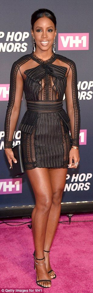 Amber Rose shows off signature curves in bodycon LBD at VH1 Hip Hop Honors in New York | Daily Mail Online