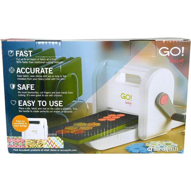 - GO! Baby Fabric Cutter Starter Set 55600 - Shipping included !! - GO! Ensemble de départ - Bébé coupeur de tissu 55600 - Transport inclus!!!  189.99$ #Accuquilt #FabricCutter