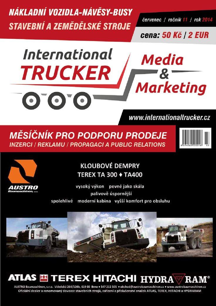 Český Trucker červenec 2014
