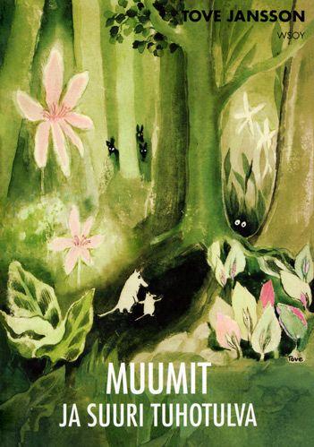 1945 Söderström & Co julkaisee ensimmäisen Muumi-tarinan - Muumit ja suuri tuhotulva - ruotsiksi. Tarina kertoo Muumimamman ja Muumipeikon etsinnästä kadonneen Muumipapan löytämiseksi ja siitä kuinka he löysivät tiensä Muumilaaksoon.