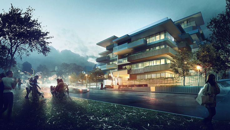Making of Adelaide Housing by Arqui9 Visualisation - 3D Architectural Visualization & Rendering Blog