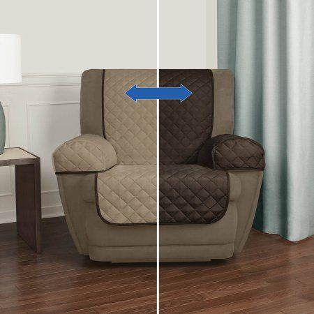 Mainstays Reversible Microfiber Fabric Pet/Furniture Recliner Chair Cover Multicolor & Best 25+ Recliner chair covers ideas on Pinterest | Lazyboy Lazy ... islam-shia.org