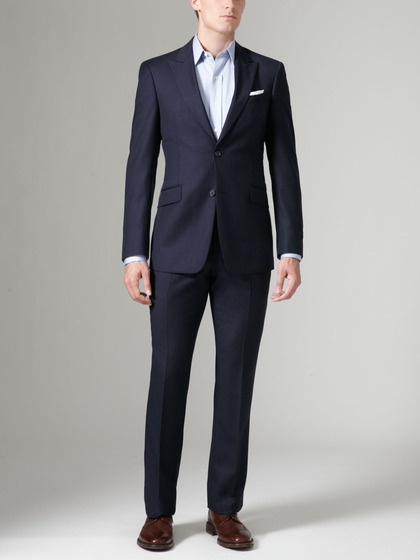 Joseph Multi Stripe Suit by Tommy Hilfiger Suiting on Gilt