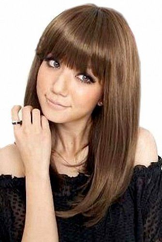 Taobaopit Natural Designer Mid-length Synthetic Straight Wigs Hairpieces Hair Extensions-Brown by Taobaopit. $13.31. * It's fit for your Parties,Cosplay & Daily Use.. * This wig is soft to the touch and looks silky and healthy!. * 100% Top Quality & Brand NEW.. * The size is adjustable,it can fit on most people.you can adjust the hooks inside the cap to the correct size to suit your head.. * Easy to care for and Wahs. Wash with normal shampoo in warm but not ho...