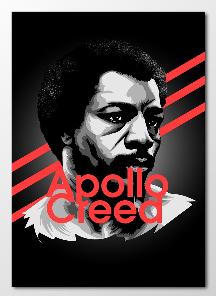 #project366 an #illustration a day continues with The Master of Disaster, the one and only Apollo Creed!  #rocky #apollocreed #masterofdisaster #newart #design #designer #graphicdesign #graphics #sketch #sketchbook #portrait #popculture #carlweathers #boxing #film #retroart #classicfilm #70s #heavyweight