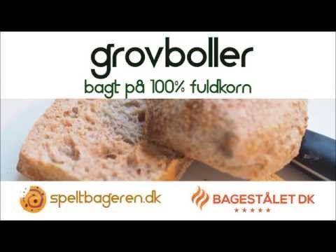Grovboller - Lette og luftige af 100% fuldkornsmel