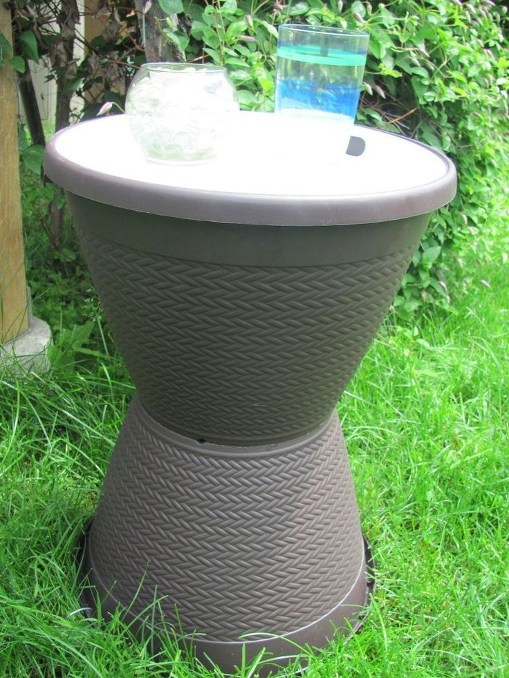 How To Make An Easy Outdoor Side Table Outdoor Side Table Diy Garden Table Diy Side Table