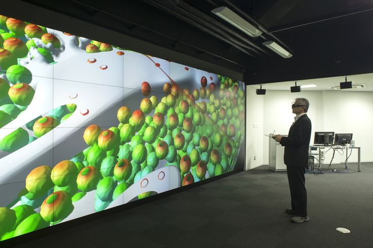 Osaka University | Barco video wall