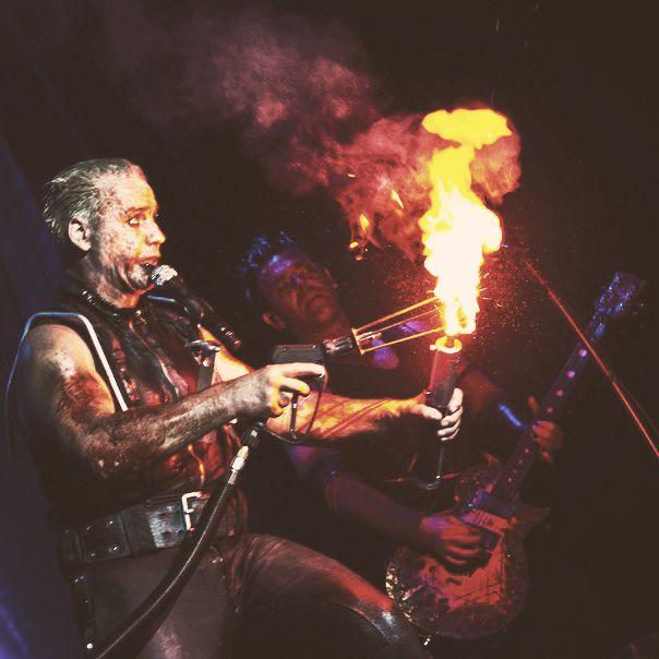TIll Lindemann and more fire! :D