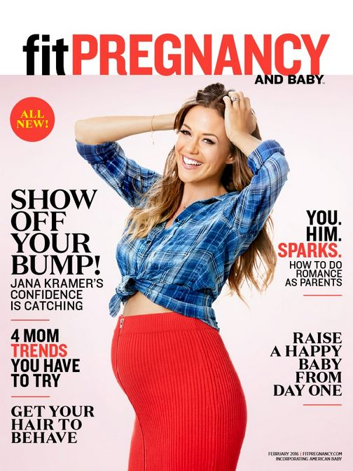 Our Feb cover girl Jana Kramer hasn't let pregnancy slow her down and neither should you! Here are her confidence-boosting (and just totally awesome) tips.