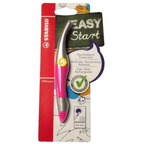 STABILO EASYoriginal Ergonomic LEFT Handed Pen METALLIC NEON Pink Girl 6867-1