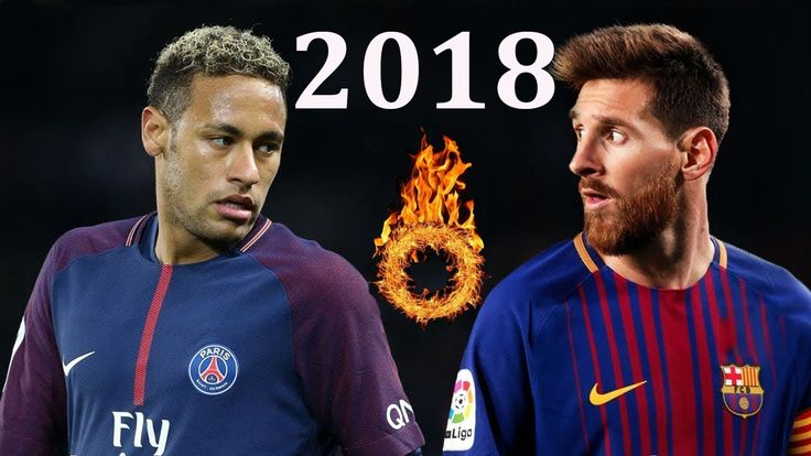 Neymar vs Lionel Messi - Epic Skills & Goals 2017/18  HD