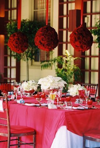 17 best images about valentine ball decoration ideas on for Table 52 valentine s day