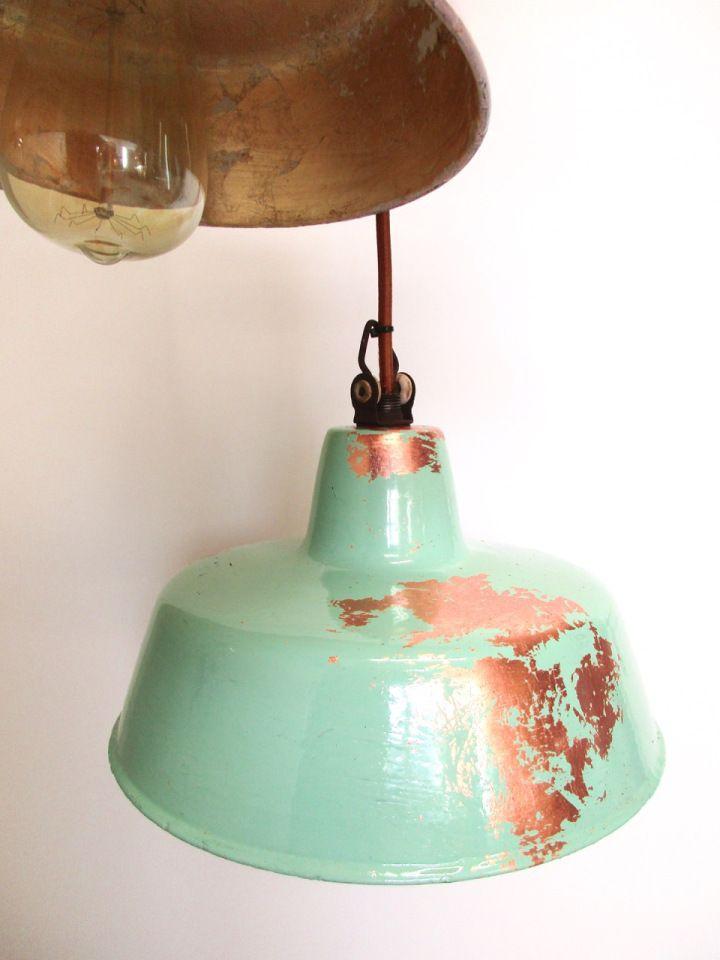 Einfache Dekoration Und Mobel Nordika Design Lieblingslampen #17: Industriestil Deluxe U2013 Lampen In Pastell (+u201cmaking Ofu201c!