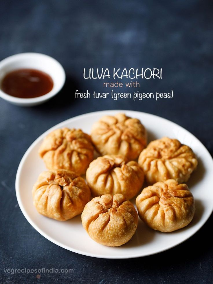lilva kachori is a delicious winter snack made with fresh tuvar (pigeon peas). these fresh tuvar beans are called as lilva in gujarati language and hence the name lilva kachori. this lilva kachori recipe gives you one of the best kachori with a flaky crisp crust and a soft, lightly spicy, sweet and tangy filling.