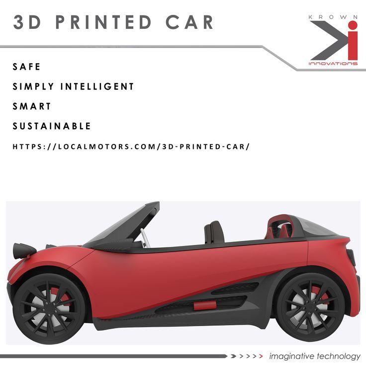 3D Printed Car