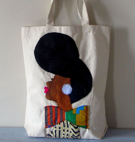 JMonae Tote Bag by QuellyRueDesigns on Etsy, $36.00