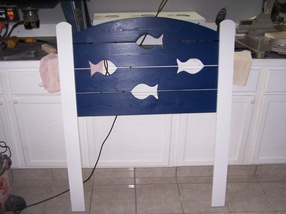 Nautical Headboard Cabin Headboard Cottage By