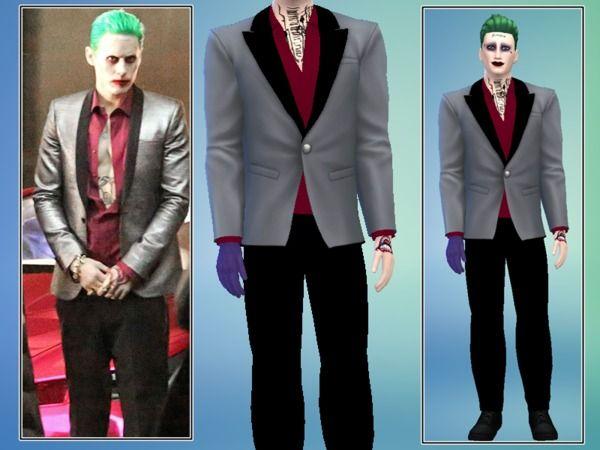 Cinderella Ella 94's Suicide Squad Joker Suit - Luxury Party needed