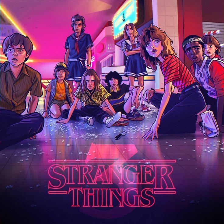 Stranger Things Alternative Poster by Nuño Benito, nunobenitoart, Season 3, Eleven, Millie Bobby ...