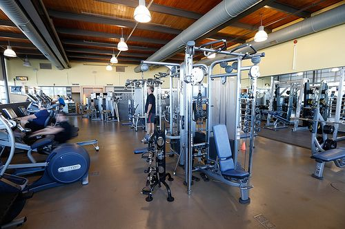 Our state of the art fitness centre at Centennial Community Centre.