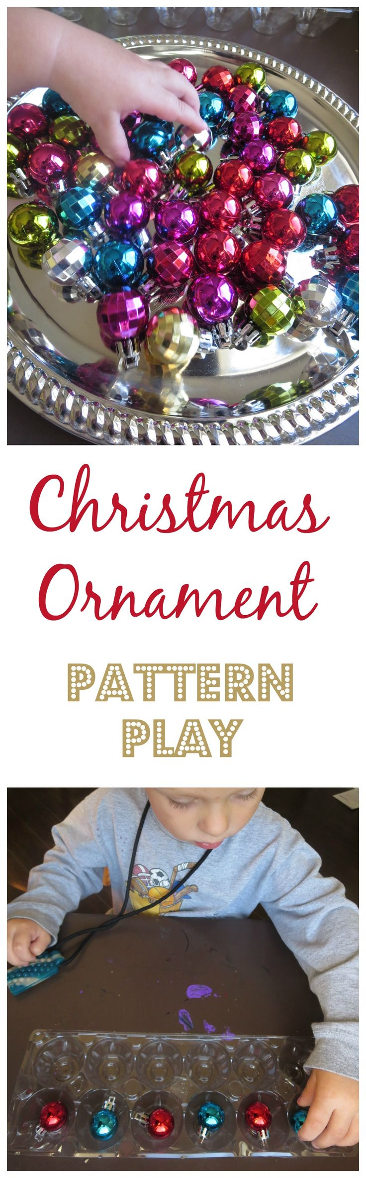 Christmas Ornament Pattern Play