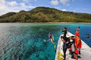 Underwater paradise at Takabonerate