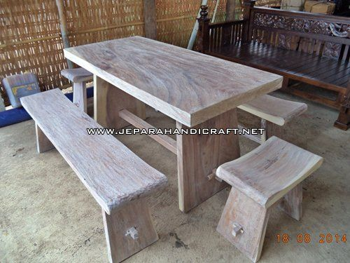 bangku makan unik, jual meja solid, kursi makan unik, meja makan kayu utuh, meja makan rustik, meja makan termurah, meja makan unik