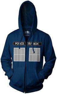 Doctor Who: TARDIS Hoodie