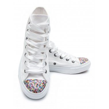 Converse Crystal High White Color