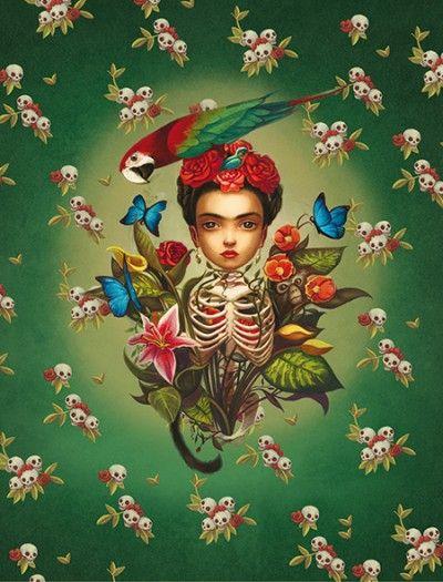 Le Carnet Frida de Benjamin Lacombe
