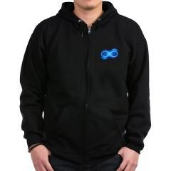 Infinity Symbol Zipped Hoodie > Infinity - Men's Clothing > Myss Foss Designs